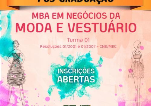 MBA em Negócios de Moda e Vestuário: inscrições abertas