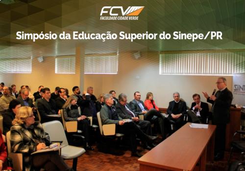 Diretor da FCV participa de evento onde se discutiu os rumos da educação superior