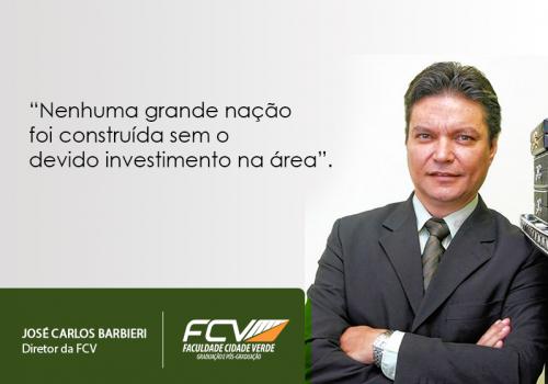 Falta de investimento na educação é tema de artigo do diretor da FCV