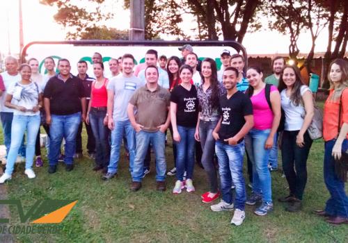 Alunos de GPI fazem visita técnica a Cocamar