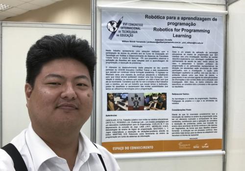 Professor da FCV apresenta artigo no XVI Congresso Internacional de Tecnologia na Educação