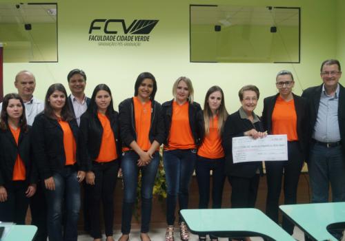 Acadêmicos da FCV arrecadam mais de R$95mil em Feira de Empreendedorismo Contábil