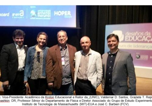 FCV participa do 7° Fórum de Lideranças: desafios da educação