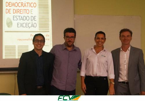 Lançamento de livro reuniu alunos e admiradores de professor da FCV