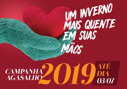 A Campanha do Agasalho 2019 já chegou na UNIFCV, participe!