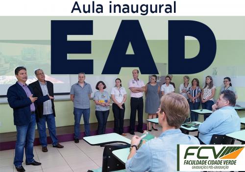 EAD: Aula inaugural reúne alunos do polo de Maringá