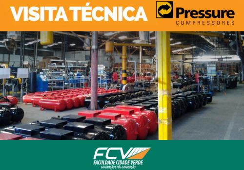 FCV organiza visita técnica à Pressure