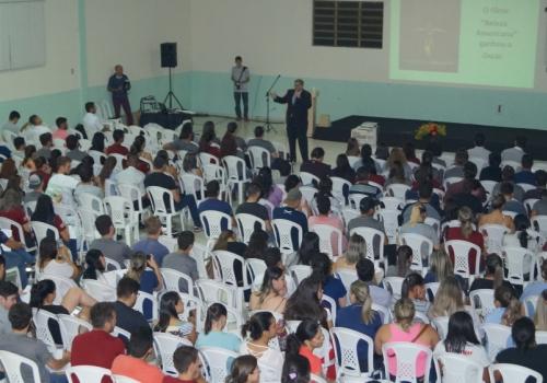 Semana Acadêmica: Orlando Chiqueto palestra para alunos de Contabilidade
