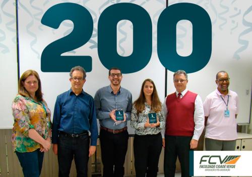 Professor da FCV marca a 200ª defesa de Mestrado da Lactec