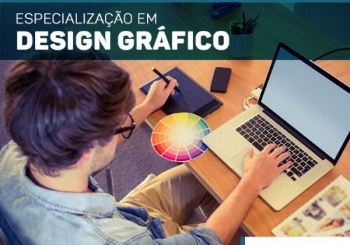Design Gráfico: pós-graduação terá início neste mês