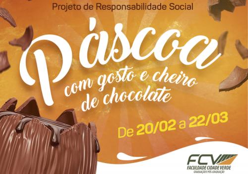 Começa campanha de arrecadação de chocolate para a Páscoa