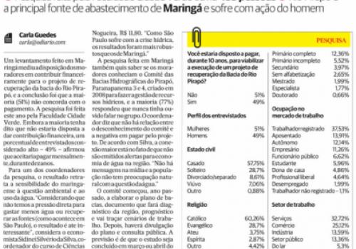 Estudo realizado por acadêmicos de Economia é destaque no Jornal O Diário