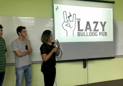 Alunos de Marketing e Design da UNIFCV participam de concurso de identidade visual Lazy Bulldog