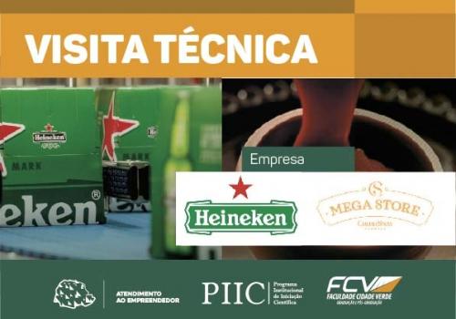 Fábrica da Heineken e Mega Store da Cacau Show são destinos de visita técnica