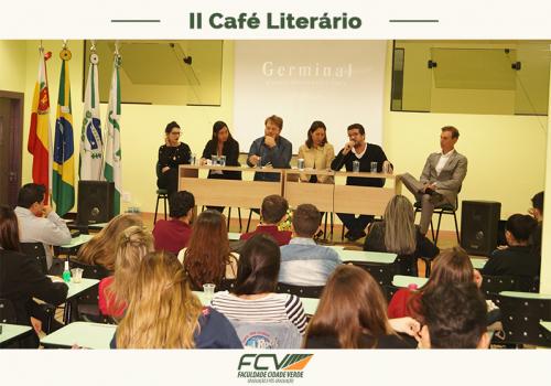 FCV realiza o II Café Literário