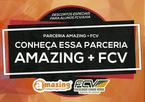 FCV agora é polo da Amazing English