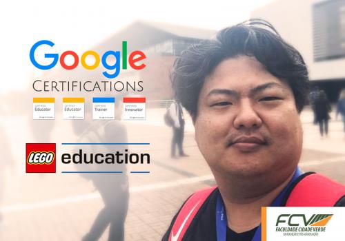 Professor FCV tira certificação internacional de robótica e Google