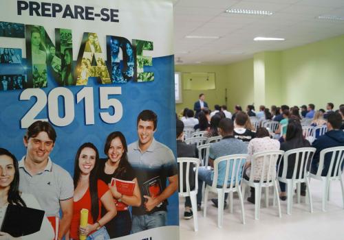 FCV realiza primeiro encontro sobre Enade 2015 com acadêmicos
