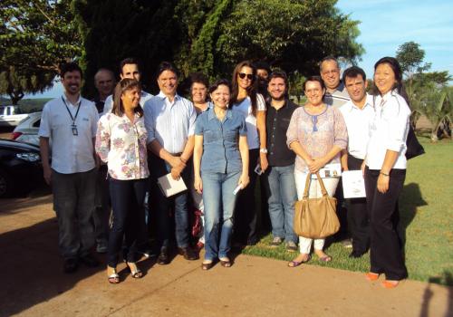 Colaboradores da FCV realizam visita em faculdade de Campo Mourão