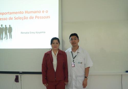Curso de Logística do PRONATEC participa de palestra com psicóloga