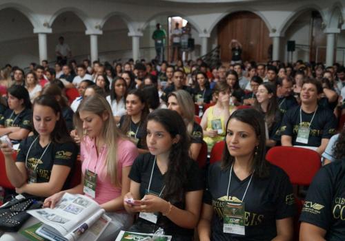 Mais de 400 pessoas participam da abertura do ENCICON 2014