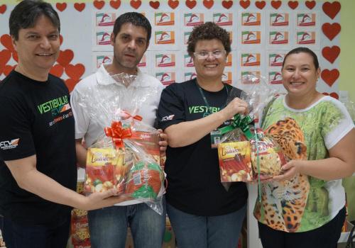 FCV realiza entrega de doações para a Casa da Criança de Maringá