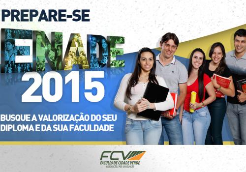 FCV se prepara para o Enade 2015