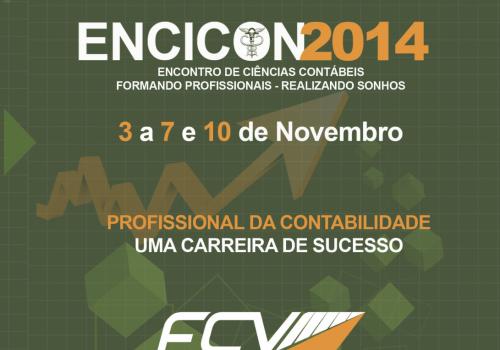 ENCICON 2014 está com inscrições abertas