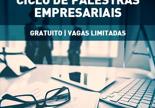 José Rodolfo Grou é o primeiro palestrante do Ciclo de Palestras Empresariais - FCV