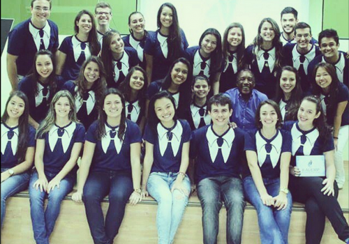 FCV sedia Ação Universitária Empreendedora
