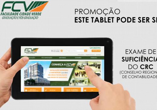 """FCV realiza a promoção """"Este tablet pode ser seu"""""""