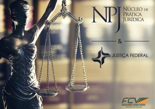 NPJ da FCV agora é conveniado da Justiça Federal