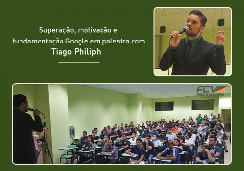 Habituado a se superar palestrante fala da sua trajetória para alunos de ADS