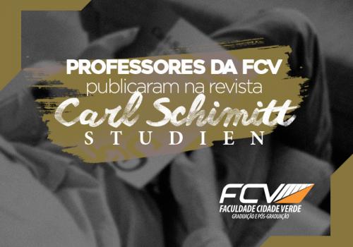 1ª edição de revista schmittiana tem artigos de professores FCV