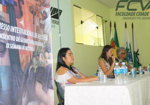 FCV sedia Congresso Internacional de História