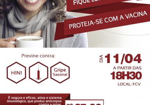 Gripe: campanha de vacinação para alunos e colaboradores terá doses a preço menor