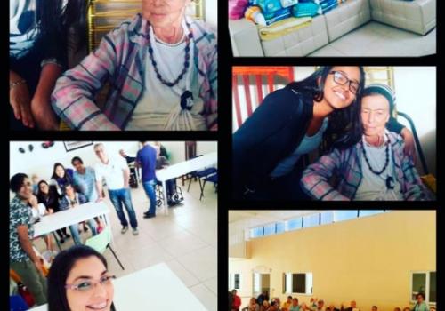 Trote Solidário: 691 itens arrecadados são entregues a asilo