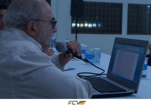 Encerramento do I Simpósio Carl Schmitt da FCV contou com a presença de Oswaldo Giacoia