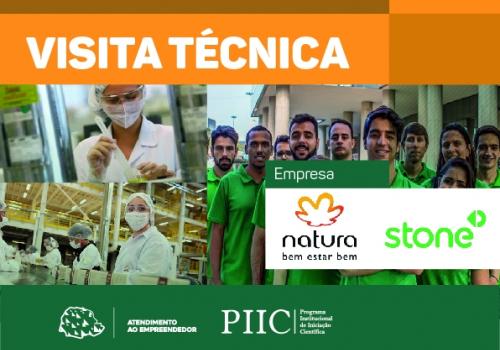 UNIFCV faz visita técnica nas empresas Stone e Natura