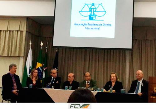 Diretor da FCV participa do XIV Congresso Brasileiro de Direito Educacional