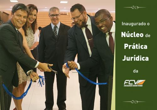 FCV inaugura Núcleo de Prática Jurídica