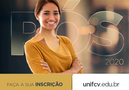 Pós-Graduação presencial na UniFCV