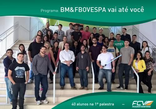 FCV recebe professor do Instituto BM&FBOVESPA