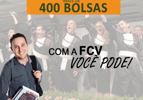FCV oferece mais de 400 bolsas pelo ProUni e Promube