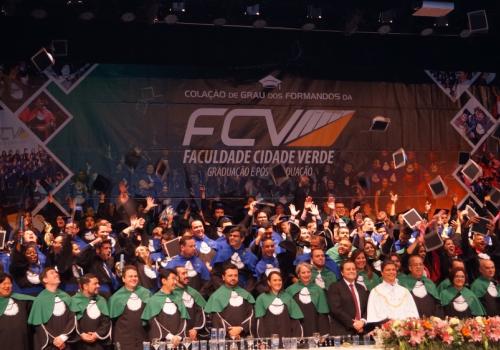 FCV realiza sua 17ª Colação de Grau