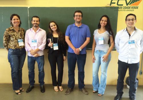 Professores e alunas FCV participam de congresso em SP