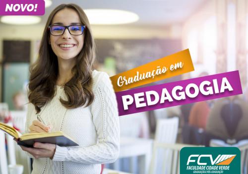 Licenciatura em Pedagogia é o novo curso de graduação da FCV