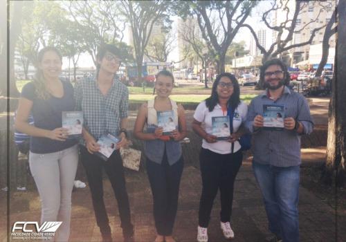 FCV participa de ação em comemoração ao dia do Economista