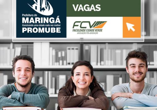 Promube: FCV oferece 35 bolsas de 50%