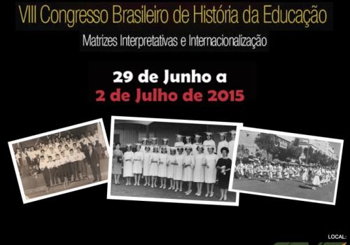 VIII Congresso Brasileiro de História da Educação é realizado na FCV